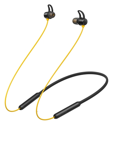 realme Buds Wireless in Ear Bluetooth with mic Yellow